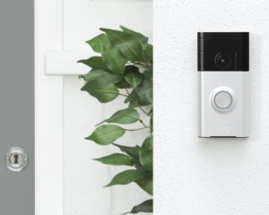 WITH A RING VIDEO DOORBELL YOU ARE ALWAYS HOME